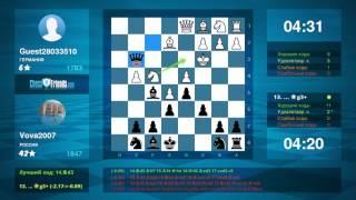 Защита Каро-Канн: Вова (9 лет) из Барнаула разгромил противника из Германии(Данное видео было создано мобильным приложением ChessFriends.com **** Понравилось видео? Вы тоже можете создавать..., 2016-09-03T02:46:09.000Z)