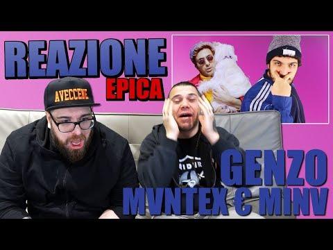 GENZO  - MVNTEX € MINV ft. YTFC | REACTION FINITA MALE | ARCADE BOYZ