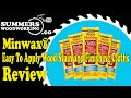 Easy To Apply Minwax® Wood Stain and Finishing Cloths Review