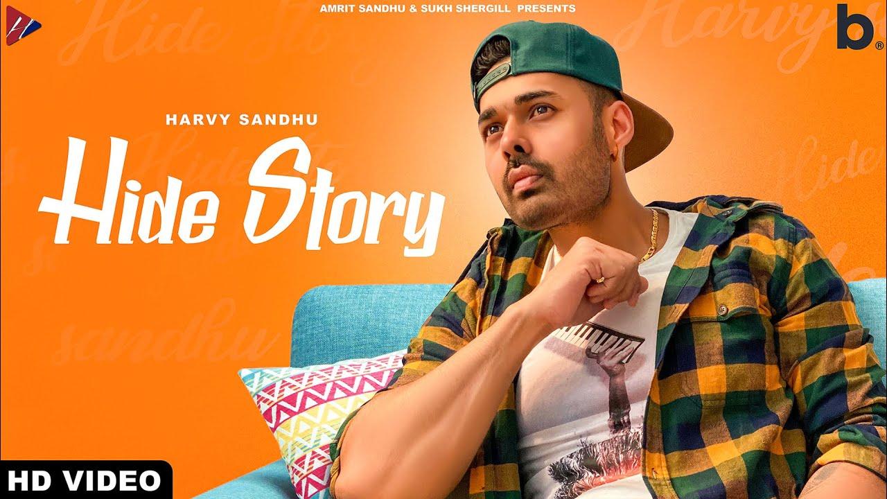 HIDE STORY (Full Video)   Harvy Sandhu   Shehnaz Gill   Latest Punjabi Song 2020