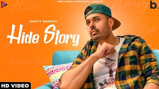 HIDE STORY (Official Video) | Harvy Sandhu | Shehnaz Gill