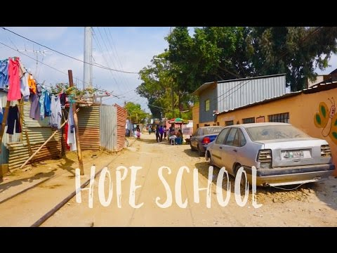 1st Day at the Hope School in Guatemala City!