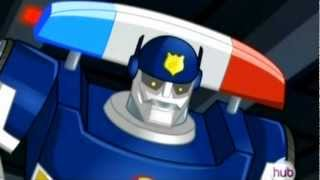 "D.C. Douglas as 'Chase' in ""Transformers: Rescue Bots"" (Season 1 Highlights)"