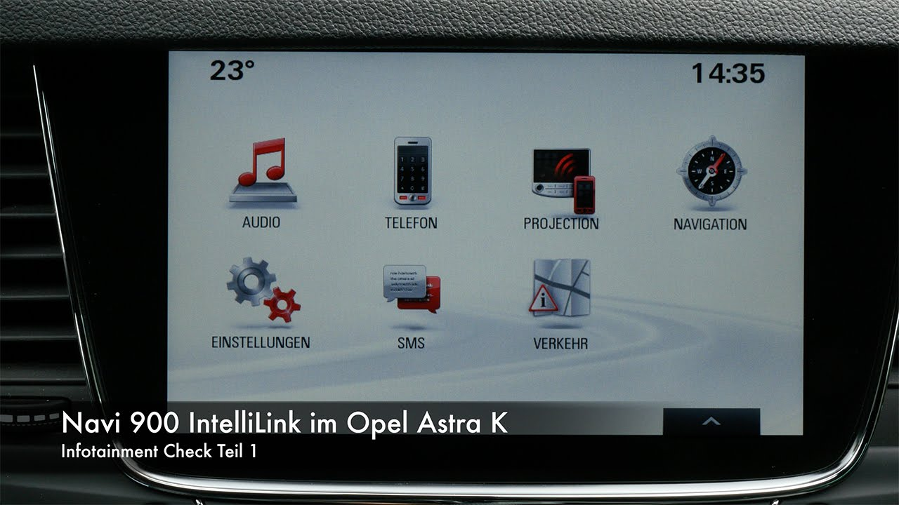 infotainment check navi 900 intellilink im opel astra. Black Bedroom Furniture Sets. Home Design Ideas