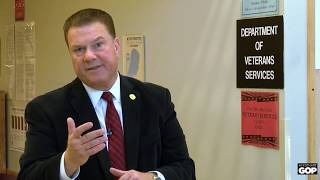 Sen. Lucido interviews veterans on governor's harmful vetoes