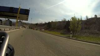 Stuttgart - Dolomiten mit der BMW R1200GS Adventure