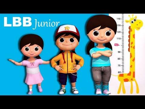 Getting Taller Song | Original Kids Songs | By LBB Junior