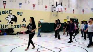 Say Hey Samba - Line Dance (Danced & Walk thru)