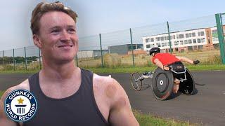 Wheelchair Marathon Hero Seeks Paralympic Glory - Guinness World Records