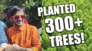 Planted 300 trees with fans! | Mumbai Meet-Up #TreeSena