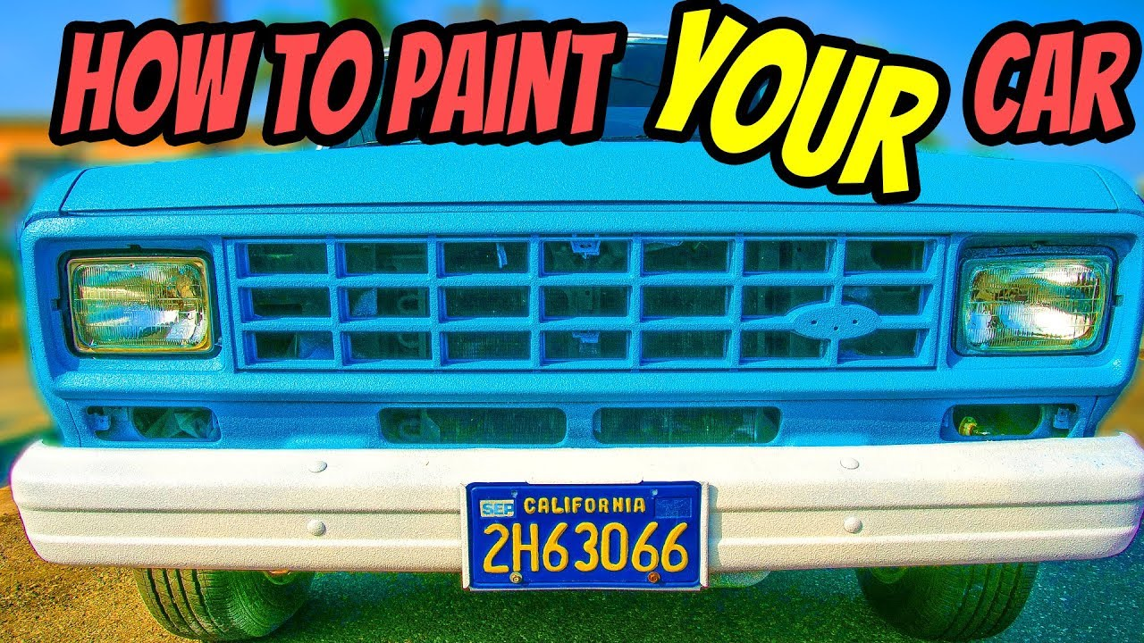 How To Paint A Car Cheap🔴