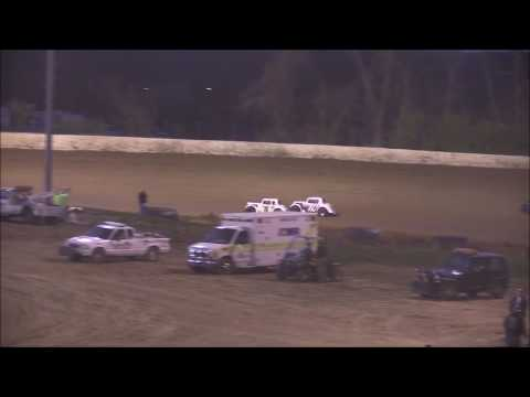 Ohio Valley Roofers Legend Car Heat #1 from Florence Speedway, April 8th, 2017.