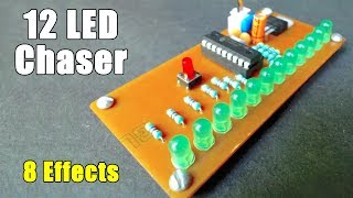 12 LED Chaser (8 Effects)