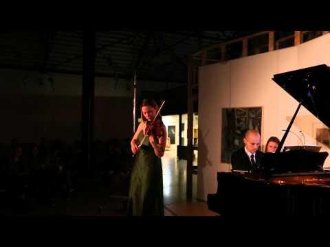 """Release concert """"MYTH Rosanne Philippens plays Szymanowski""""  Rosanne Philippens & Julien Quentin"""