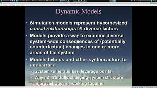 Notes on System Science Motivations and Overview of System Science Modeling Tradition 2018 11 12 11