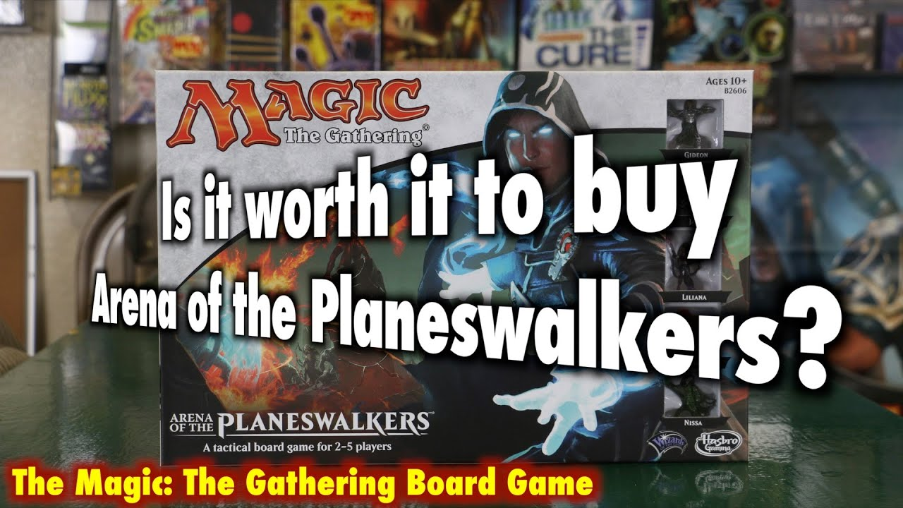 magic the gathering planeswalker board game how to play