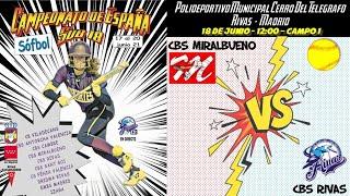 MIRALBUENO ZARAGOZA vs CBS RIVAS - 12:00 - GRUPO A - FASE CLASIFICACIÓN