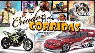 Criador de corridas - GTA5 - Tião Games