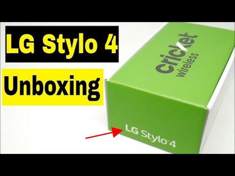 Lg Stylo 4 Cricket - Unboxing