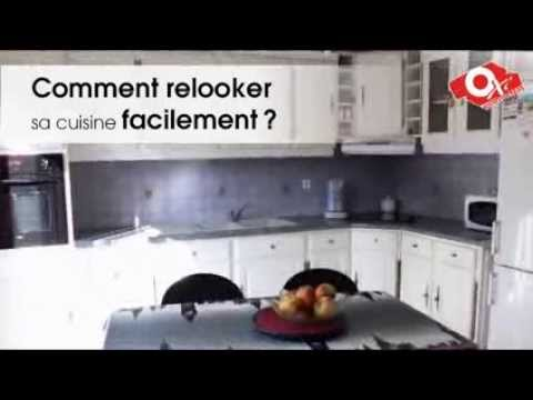 Peinture carrelage r novation de cuisine youtube for Peinture renovation carrelage sol v