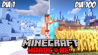 Paso Minecraft pero Todo el Mundo es Hielo