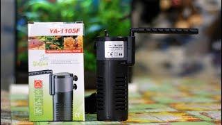 YA 1105F бюджетный фильтр для маленьких аквариумов