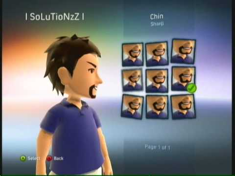 New Xbox 360 Live Experience - My Avatar - New Dashbboard