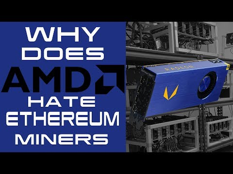 Why Does AMD Hate ETHEREUM Miners? - RX VEGA PACKS