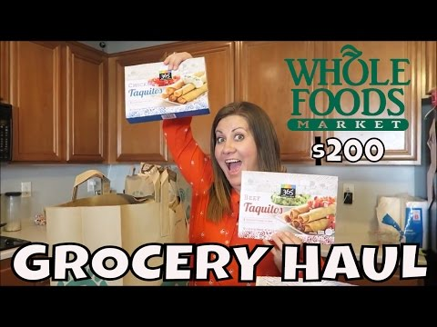 WHOLE FOODS GROCERY HAUL | $200 BUDGET | DISAPPOINTED? | PHILLIPS FamBam Hauls