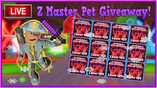 Ninja Legends Pet Giveaway! | Z-Master Pet Giveaway LIVE (1/20)