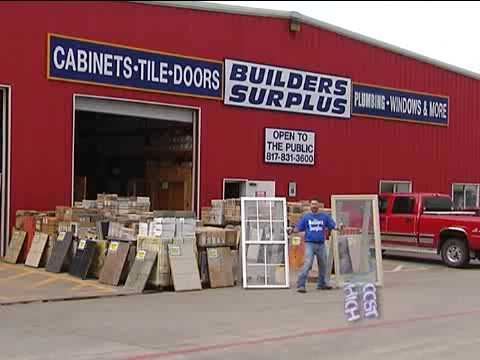 builders surplus youtube