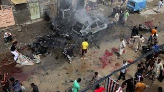 На рынке в Багдаде взорвался грузовик со взрывчаткой погибли 60, ранены 200 человек