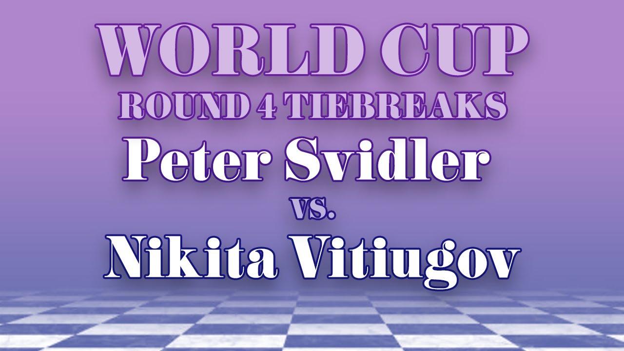 Peter Svidler vs Nikita Vitiugov
