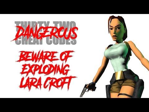 Beware Of Exploding Lara Croft Cheat Code 2 Youtube