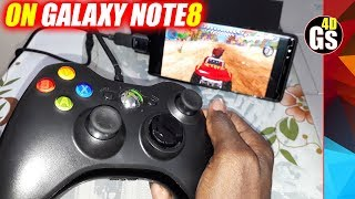 Samsung Galaxy Note 8: How to Play games With XBOX Controller