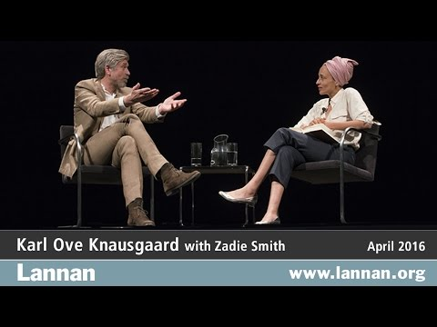 Karl Ove Knausgaard, Conversation, 27 April 2016