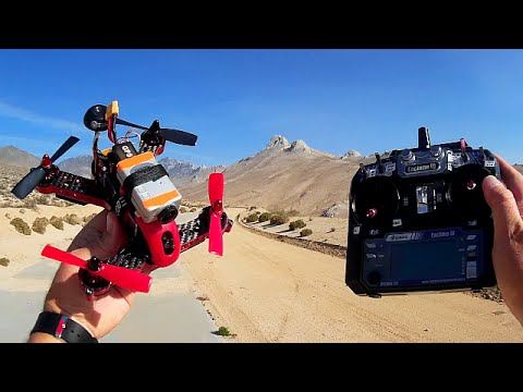 Eachine Blade 185 RTF GPS OSD FPV Racer Drone Flight Test Review