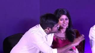Mega Akash Cute Reactions in Boomerang Audio Launch nba 24x7