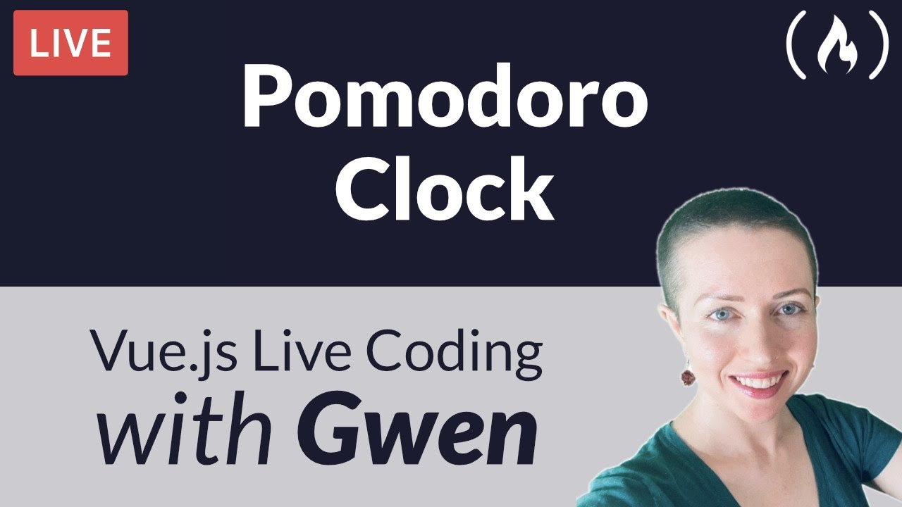 Live Coding Project: Create a Pomodoro Clock using Vue.js