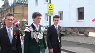 Königsvogelschießen der Aloisius-Jugend 2012
