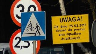 Od 25 marca zamknięty skrót przez Piękną Górę w Olsztynie