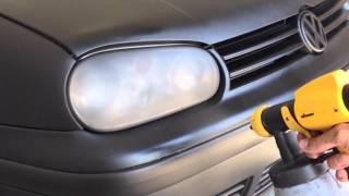 Black PlastiDip - Volkswagen Golf