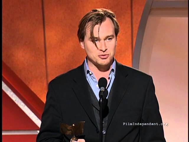 2002 - Best Screenplay & Best Director Christopher Nolan