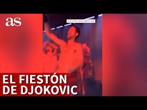 La imprudencia de Djokovic que hoy todo el mundo señala: ¡fiesta en plena pandemia!