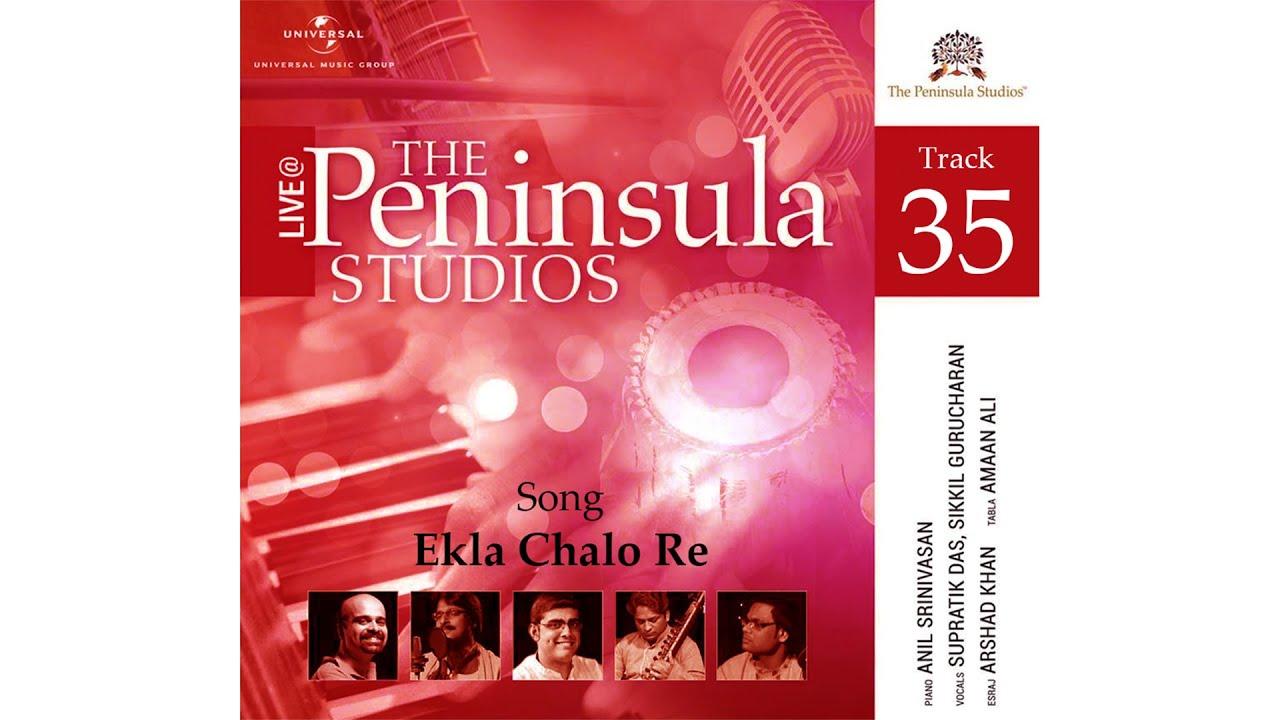 Ekla Chalo Re   Rabindra Nath Tagore   Rabindra Sangeet   Supratik Das   Anil Srinivasan