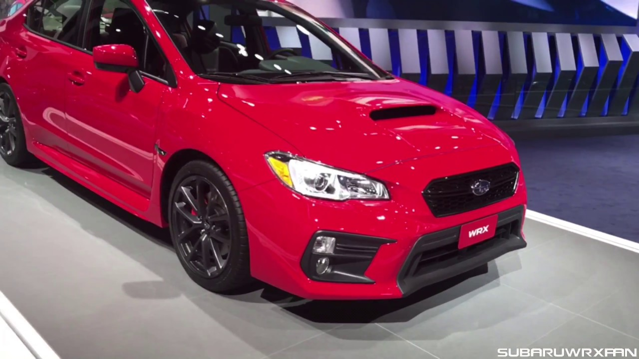 2018 Subaru Wrx Performance Package Close Up Look