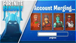 *NEW* FORTNITE TRANSFER SYSTEM in SEASON 7! (How To MERGE ACCOUNTS in Fortnite)