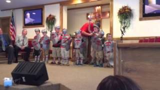 Soldiers of the Cross - Hagerhill FWB Church - Sept. 20, 2015