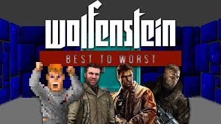 Wolfenstein Games From Worst to Best - Gggmanlives