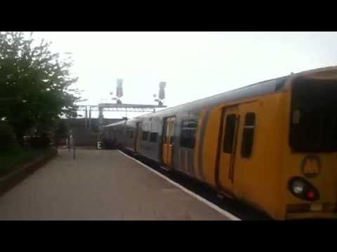 Class 508 departing Chester